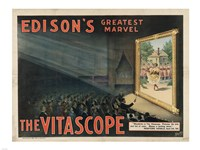 Edisons Vitascope Fine-Art Print