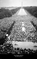 Civil rights march on Washington Fine-Art Print