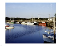 Orleans harbor, Cape Cod, Massachusetts Fine-Art Print
