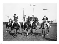 Edwards Freake and others Polo Fine-Art Print