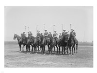 Police Show Polo Team Fine-Art Print