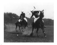 This was the first match of the War Dept. Polo Association Tournament Fine-Art Print
