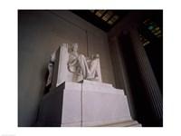 Lincoln Memorial Washington, D.C. USA Statue Fine-Art Print
