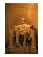 USA, Washington DC, Lincoln Memorial Fine-Art Print
