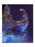Cape Cod - from space Fine-Art Print