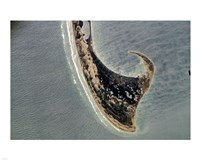 Provincetown Cape Cod photographed from space Fine-Art Print
