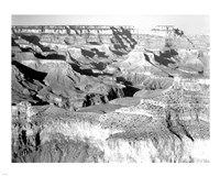 Grand Canyon National Park canyon with ravine winding Fine-Art Print