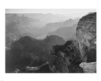 View, looking down, Grand Canyon National Park, Arizona, 1933 Fine-Art Print
