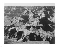 View of rock formations, Grand Canyon National Park,  Arizona, 1933 Fine-Art Print