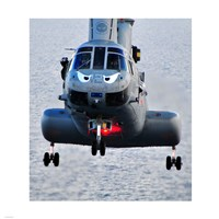 A Marine CH-46E helicopter Fine-Art Print