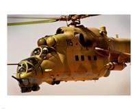 Mi-35 Hind helicopter Fine-Art Print