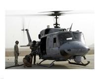 US Marine Corps UH-1N Huey helicopter Fine-Art Print