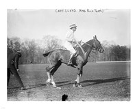 Capt. Lloyd  Eng. Polo Team Fine-Art Print