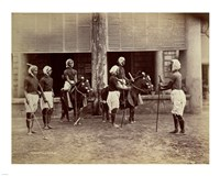 Manipur Polo Players 1875 Fine-Art Print