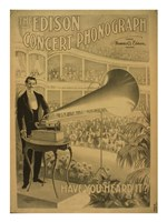 The Edison concert phonograph Have you heard it Fine-Art Print