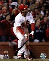 David Freese Game Winning Walk-Off Home Run Game 6 of the 2011 MLB World Series Action (#28) Fine-Art Print