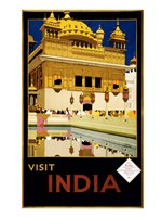 Visit India, travel poster, 1935 Fine-Art Print