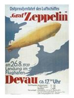 Zeppelin in Devau 1939 Fine-Art Print