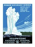 Yellowstone National Park poster 1938 Fine-Art Print