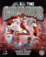 St. Louis Cardinals All Time Greats Composite Fine-Art Print