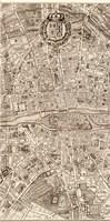 Plan de la Ville de Paris, 1715 (M) Fine-Art Print