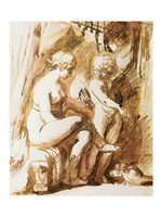 Adam Elsheimer Aphrodite Fine-Art Print