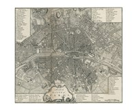 Plan Paris Stockdale Fine-Art Print