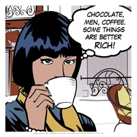 Java comic IV - mini Fine-Art Print