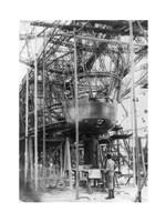Gondola of New Zeppelin for Pilot and Passengers Fine-Art Print