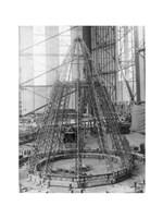 Rear Frame Constructing New German Zeppelin Fine-Art Print