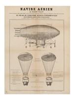 Navire Aerien Blimp Fine-Art Print
