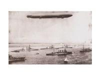 Zeppelin - B&W in the air Fine-Art Print