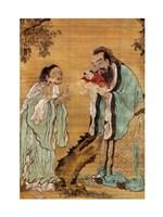 Confucius Laozi Buddha Fine-Art Print