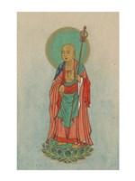 Buddha Standing on a Lotus Fine-Art Print