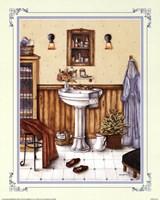 His Bathroom Fine-Art Print