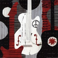 Rock n' Roll Guitars Fine-Art Print