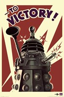 Doctor Who - Dalek to Victory Wall Poster