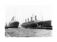 Olympic and Titanic Fine-Art Print