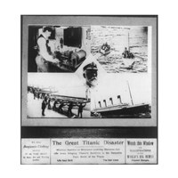 The Great Titanic Disaster Fine-Art Print