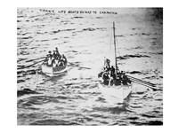 Titanic Life Boats on Way to Carpathia Fine-Art Print