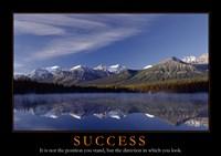 Success - mountains Fine-Art Print