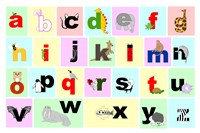 Animal Alphabet Fine-Art Print