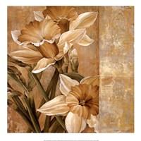 Champagne Daffodils I Fine-Art Print