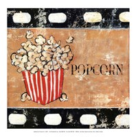 Popcorn and Treats - mini Fine-Art Print