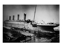 Docked Titanic Fine-Art Print