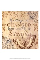 Butterfly Notes VI Fine-Art Print