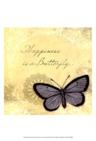 Butterfly Notes XI Fine-Art Print