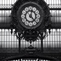 Paris clock I Fine-Art Print