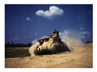 M3 Lee Tank, Training Exercises, Fort Knox, Kentucky Fine-Art Print