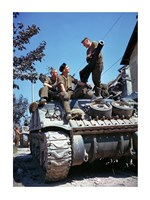 Crew of a Sherman Tank Fine-Art Print